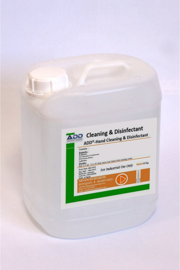 ADD®- Hand Cleaning & Disinfectant